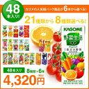 お中元 カゴメの野菜ジュース&エルビー果汁100%ジュース4...