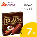 【20%OFF】赤城乳業 ブラック BLACK(マルチ) (53mlx7本)×7個入り