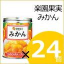 楽園果実みかん 24缶入り 缶詰 みかん 2ケースで送料無料!