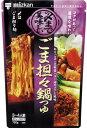 ミツカン 〆まで美味しいごま担々鍋つゆ ストレート 750g×12袋