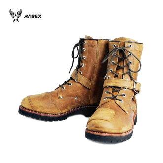 Shipping & cash on delivery fee free regular handling AVIREX U.S.A.(avirex) AV2100 YAMATO (Yamato) biker style boots CRAZY HORSE-Crazy Horse fs3gm