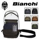 ショッピングビアンキ 正規取扱店 Bianchi(ビアンキ) TBPI-02 ボディ/ワンショルダーバッグ BLACK 全6色 BIA001