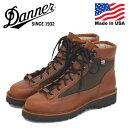 正規取扱店 DANNER (ダナー) W'S 30475 DANNER LIGHT ダナーライト レディースブーツ Ceder Brown アメリカ製