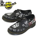 ショッピングドクターマーチン 正規取扱店 Dr.Martens (ドクターマーチン) 25475001 1461 REBEL 3EYE レェバァル レザーシューズ BLACK