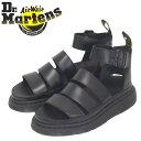 正規取扱店 Dr.Martens (ドクターマーチン) WMS 24477001 CLARISSA II クラリッサ レディース レザーサンダル BLACK