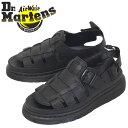 ショッピングドクターマーチン 正規取扱店 Dr.Martens (ドクターマーチン) 25518001 8092 ARC MONO レザーシューズ サンダル BLACK