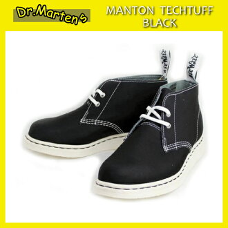 Shipping & cash on delivery fee free regular agency shop Dr.Martens Dr. Martin MANTON DESERT BOOTS Menton desert boots Black Tech Tuff X White Solefs3gm