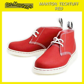 Shipping & cash on delivery fee free regular agency shop Dr.Martens Dr. Martin MANTON DESERT BOOTS Menton desert boots Red Tech Tuff X White Solefs3gm