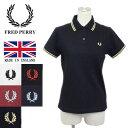正規取扱店 FRED PERRY (フレッドペリー) G12 レディース ラインポロシャツ イングランド製 全5色 FP266