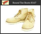 日本国内送料・代引き手数料無料 正規取扱店Red Wing(レッドウィング レッドウイング) 8167 6inch PLAIN TOE ブーツ Traction Trad Sole TAN ROUGH OUT SUEDE(タンラフアウト スエード)