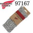 ショッピングラグ 正規取扱店 RED WING (レッドウィング) 97167 Cotton Ragg Socks コットンラグソックス 靴下 ブラック