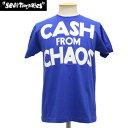 正規取扱店 SEDITIONARIES (セディショナリーズ) CASH FROM CHAOS Tシャツ ブルー STO101