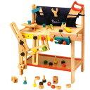 【組立て方は無限大の発想力で】木製玩具 ワークベンチ