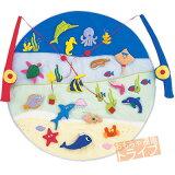 有趣的钓鱼游戏玩具面料()[楽しいさかなつりOCEAN FRIENDS()]