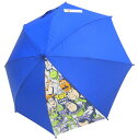 傘 キッズ 雨具 トイ・ストーリー 子供傘 50cm ネイビー 長傘 子供服 洋品