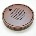 中国茶器・円満茶盤(竹・貯水式)