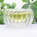 南瓜杯30ml(耐熱ガラスの中国茶器 ティーカップ 茶杯 品茗杯)