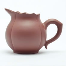 中国茶器・宜興紫砂・蓮茶海 240ml