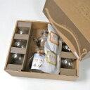 耐熱ガラス中国茶器セットと烏龍茶小2種【楽ギフ_のし宛書】