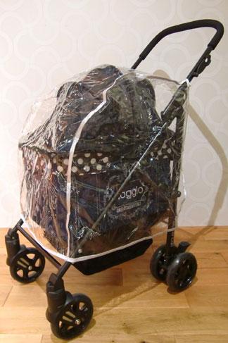MotherCart(マザーカート)ラプレアジリティー専用レインカバー小型犬キャリーバッグ/キャリー