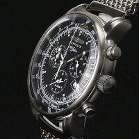 ZEPPELINツェッペリンZeppelin号誕生100周年記念モデルクロノグラフドイツ製腕時計メンズブラック7680M2【送料無料】【代引き手数料無料】