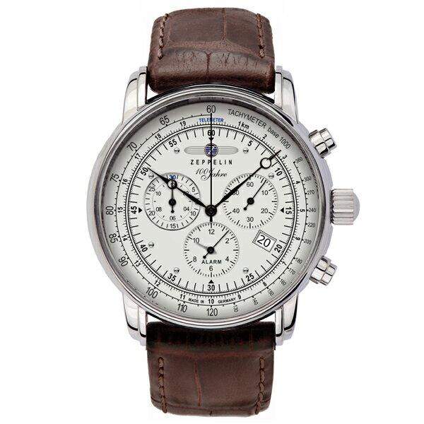 ZEPPELIN ツェッペリン Zeppelin号誕生100周年記念モデル クロノグラフ ドイツ製 腕時計 76801 【送料無料】
