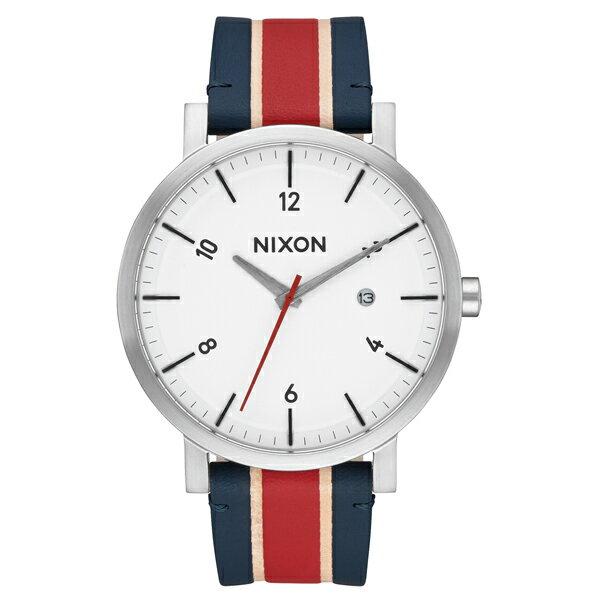 NIXON ニクソン Rollo ロロ White/Stripes 【国内正規品】 腕時計 NA9451854 【送料無料】【き手数料無料】