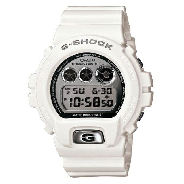 G-SHOCK ジーショック CASIO カシオ メタリックダイアル 腕時計 【国内正規品】 メンズ ホワイト DW-6900MR-7JF 【送料無料】【代引き手数料無料】