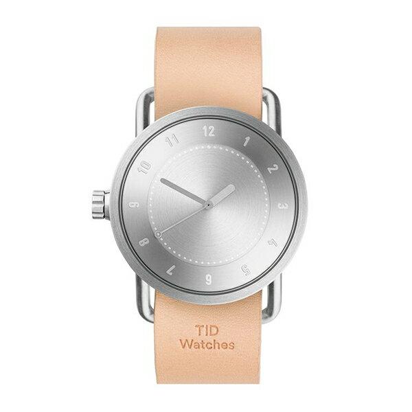 TID Watches ティッド ウォッチ No.1 レザーベルト シルバー 40mm 【国内正規品】 腕時計 TID01-SV/N 【送料無料】【き手数料無料】