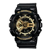 G-SHOCK ジーショック CASIO カシオ Black × Gold Series ブラック×ゴールド 【国内正規品】 腕時計 GA-110GB-1AJF 【送料無料】【代引き手数料無料】10P29Jul16