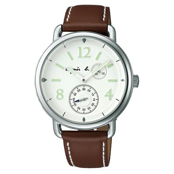 agnes b. HOMME アニエス bon voyage ボン・ボヤージュ ラージ 腕時計 メンズ FCRT984 【送料無料】【き手数料無料】