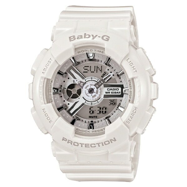 Baby-G ベビージー CASIO カシオ 【国内正規品】 腕時計 レディース BA-110-7A3JF 【送料無料】【代引き手数料無料】