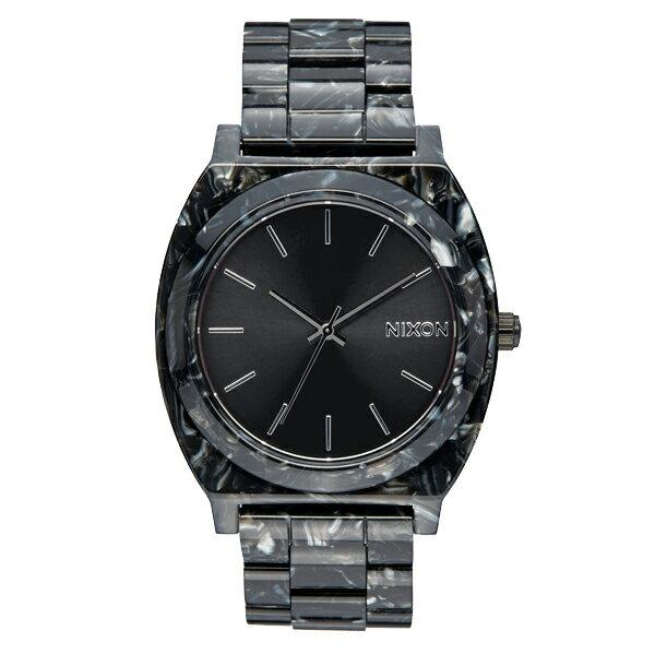 NIXON ニクソン Time Teller Acetate タイムテラーアセテート Black/Silver/Multi 【国内正規品】 NA3272185 【送料無料】【き手数料無料】