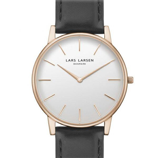 LARS LARSEN ラースラーセン LW47 【国内正規品】 腕時計  LL147RWBLL 【送料無料】【き手数料無料】