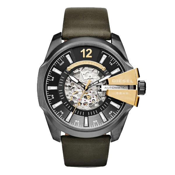 DIESEL ディーゼル MEGA CHIEF メガチーフ 自動巻き 【国内正規品】 腕時計 メンズ DZ4379 【送料無料】【き手数料無料】 腕時計 メンズ おしゃれ 30 代(腕時計 メンズ おしゃれ 30 代)
