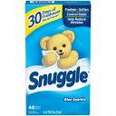 送料300円〜【 Snuggle 】 スナッグル / スナグル ブルースパークル 乾燥機用柔軟剤 ( 柔軟シート ) 40枚入