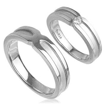 【送料無料】マットラインペアリング指輪【プラチナ...の商品画像