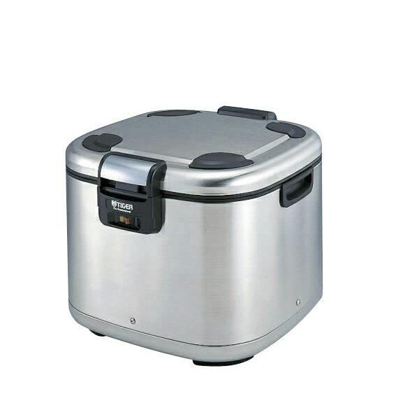 タイガー業務用電子ジャー「炊きたて」3升保温専用JHE-A540XS ステンレス ご飯がよそいやすく、ごはんのつぶれも少ないローフォルムタイプ。