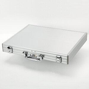 アタッシュケース・アルミ・3桁ダイヤル錠付・Lサイズ
