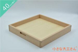 【40mm基尺】40-F 箱収納箱 立方体が64個ぴったり入