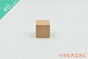 【40mm基尺】40×40×40mm単品商品 積み木 立方体