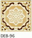 結晶 85角 デザインタイル アンティーク イスラム風(