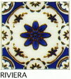 150角 デザインタイル 花柄 イスラム風(昭和レトロ)な磁器絵タイルです。 壁、床(キッチン カウンター・テーブル・浴室)のDIYリフォーム、 プランター作成にお勧めです。コースター、鍋敷き等、アンティーク・インテリア雑貨としてもOK