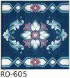 150角 デザインタイル(磁器 絵タイル) ライン イスラム(モスク)風のレトロアンティークな雰囲気です。壁・床(キッチン カウンター・浴室・トイレ)のDIYリフォームにお勧めです。