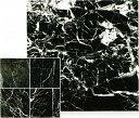 大理石 ネロクラシコ 黒 磨き 300角(30センチ) 規格サイズ 300x300x10 一枚からの販売・単価 床・壁・リビング・玄関 クールマット・のし台としても マーブル