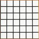 スーパーホワイト 特白 50角 モザイクタイル 1シート(36粒)単位の単価です 内壁、内床(浴室・キッチン カウンター・トイレ・テーブル)のDIYリフォームにお勧め。