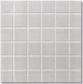 モザイクタイル シート 45角 磁器質 白。ミックスデザインタイル対応、おしゃれなアンティ…...:tileonline:10000182
