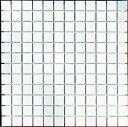 モザイクタイル シート 25角 磁器質 白マット。キッチン・壁・床等のDIYに(144粒)ミックスデザインタイル対応、おしゃれなレトロモダン風。リビング・玄関・...