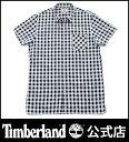 【アウトレット】ティンバーランド timberland メンズ 半袖 プレイド シアサッカー