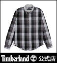 【アウトレット】ティンバーランド timberland メンズ 長袖 バックリバー オックスフォード チェック スリム